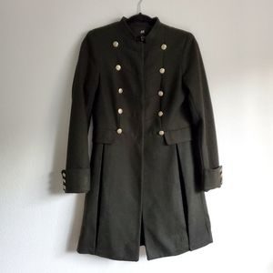 H&M Wool Army Fitted Jacket
